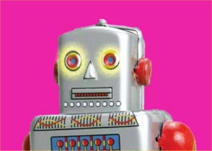 Robot-pink
